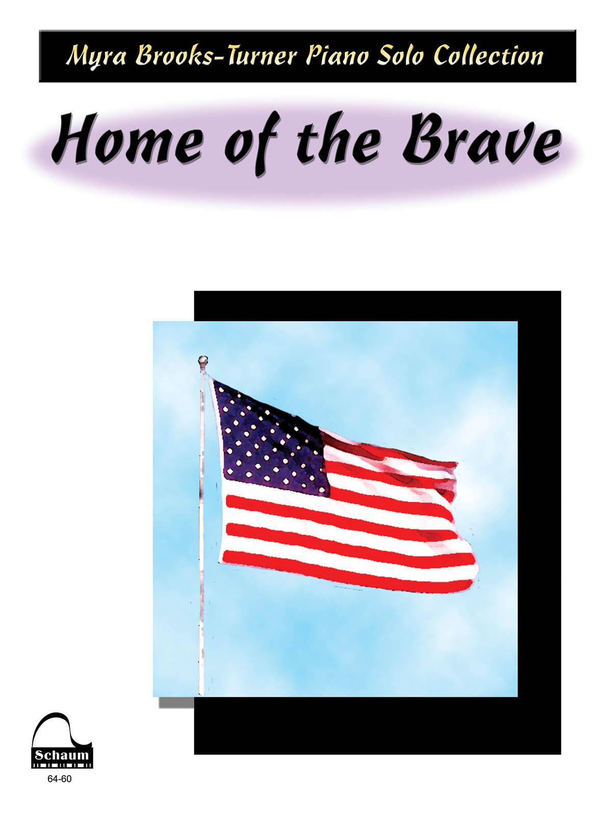 Home Of The Brave: Piano: Instrumental Album