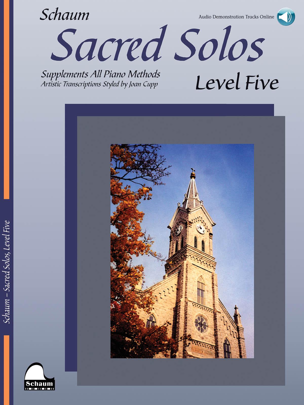 Sacred Solos - Level Five: Piano: Instrumental Album