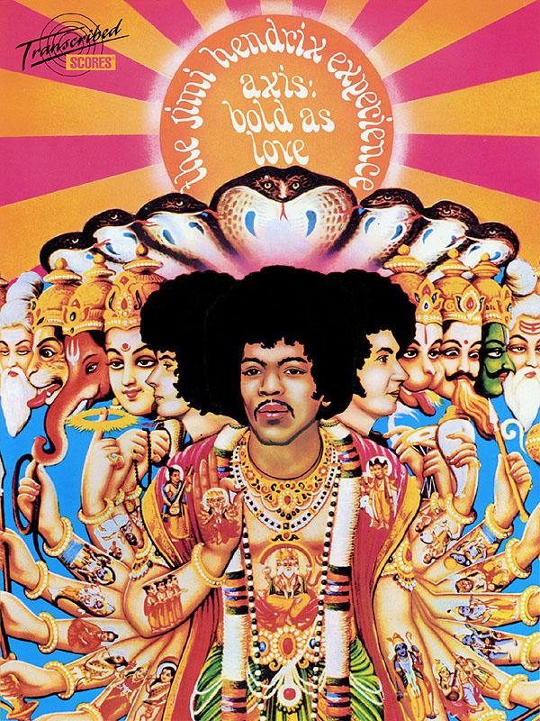 Jimi Hendrix: Jimi Hendrix - Axis: Bold As Love: Guitar Solo: Instrumental Album