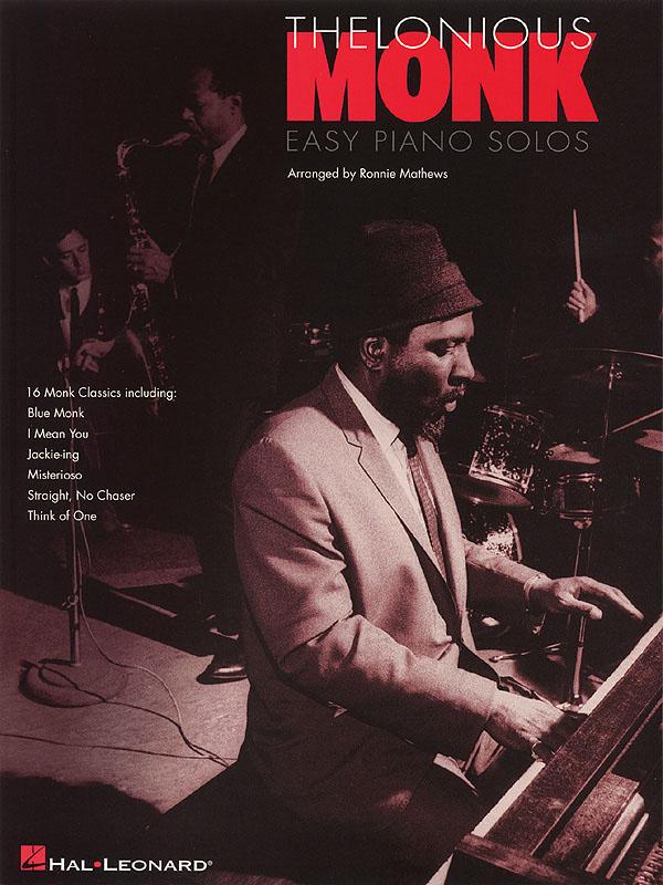 Thelonious Monk: Thelonious Monk - Easy Piano Solos: Piano: Instrumental Album