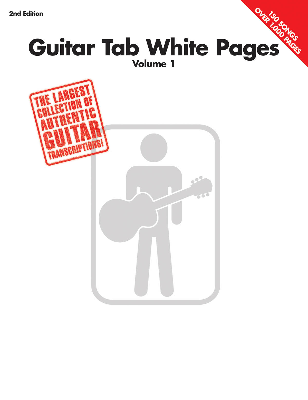 Guitar Tab White Pages - Volume 1 - 2nd Edition: Guitar Solo: Instrumental Album