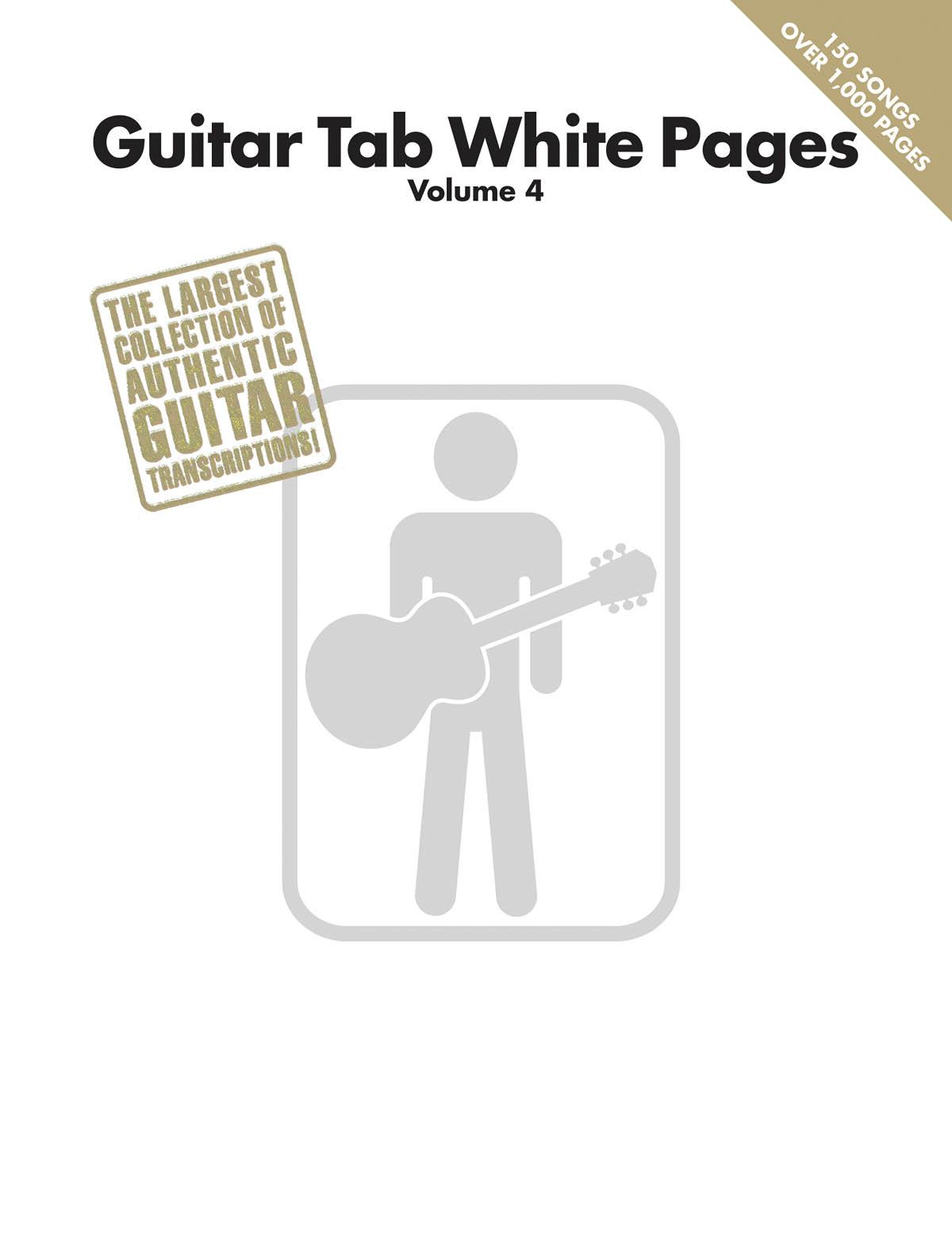 Guitar Tab White Pages: Volume 4: Guitar Solo: Instrumental Album