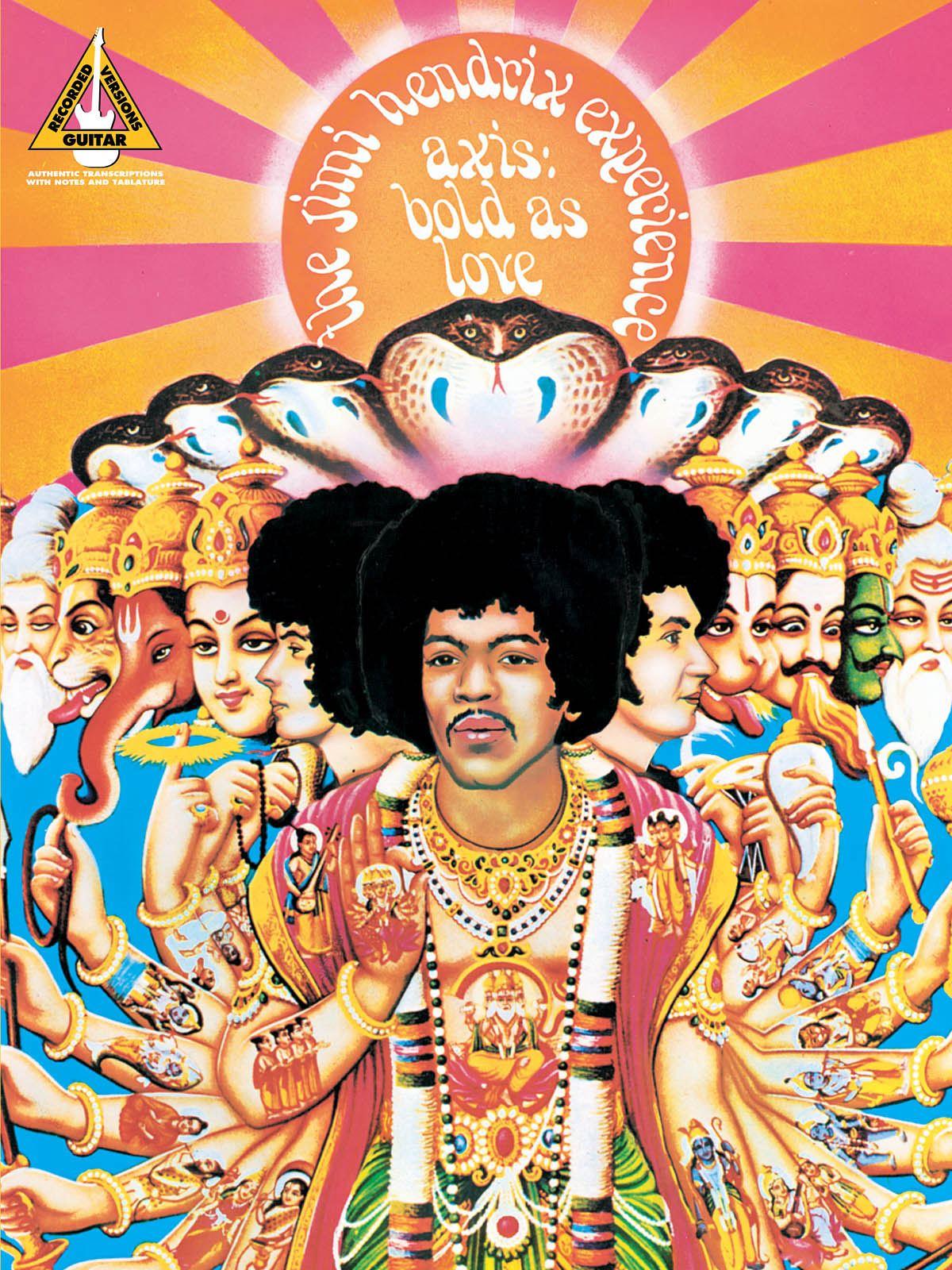Jimi Hendrix: Jimi Hendrix - Axis: Bold As Love: Guitar Solo: Album Songbook