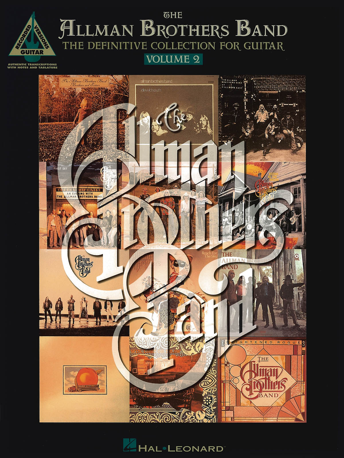 Allman Brothers: The Allman Brothers Band Volume 2: Guitar Solo: Mixed Songbook