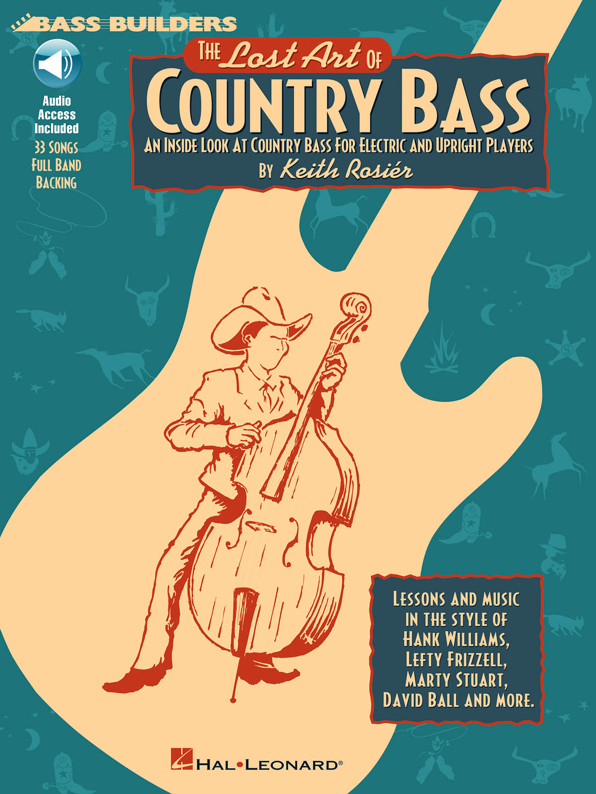 The Lost Art Of Country Bass: Bass Guitar Solo: Instrumental Tutor