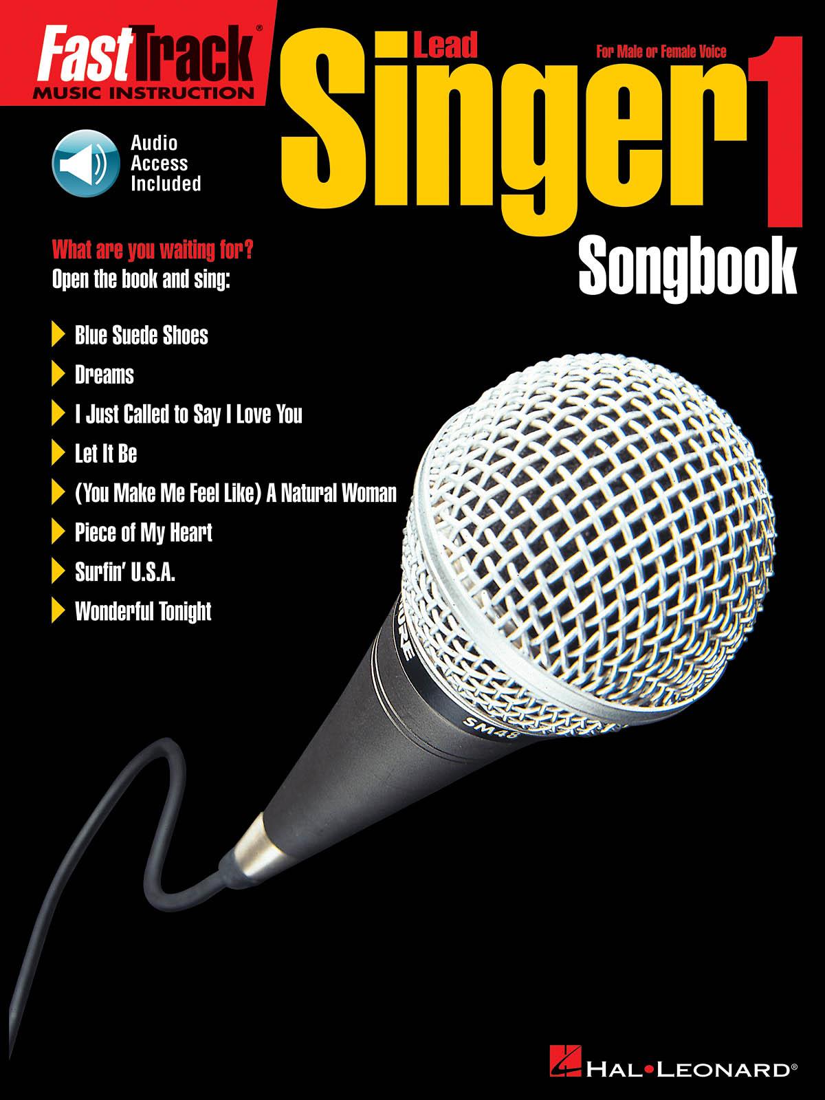 FastTrack - Lead Singer 1 - Songbook: Vocal Solo: Vocal Tutor