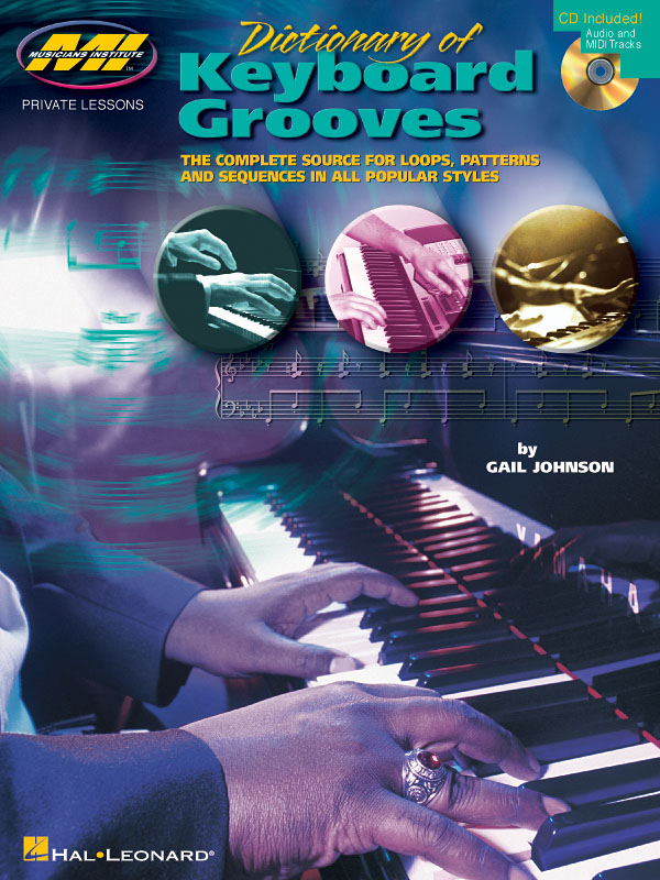 Gail Johnson: Dictionary Of Keyboard Grooves: Keyboard: Instrumental Tutor