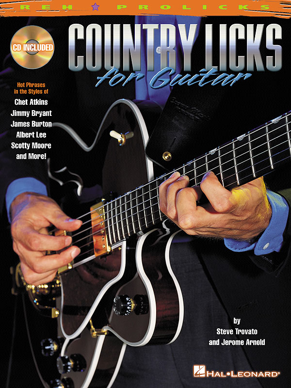 Country Licks for Guitar: Guitar Solo: Instrumental Tutor
