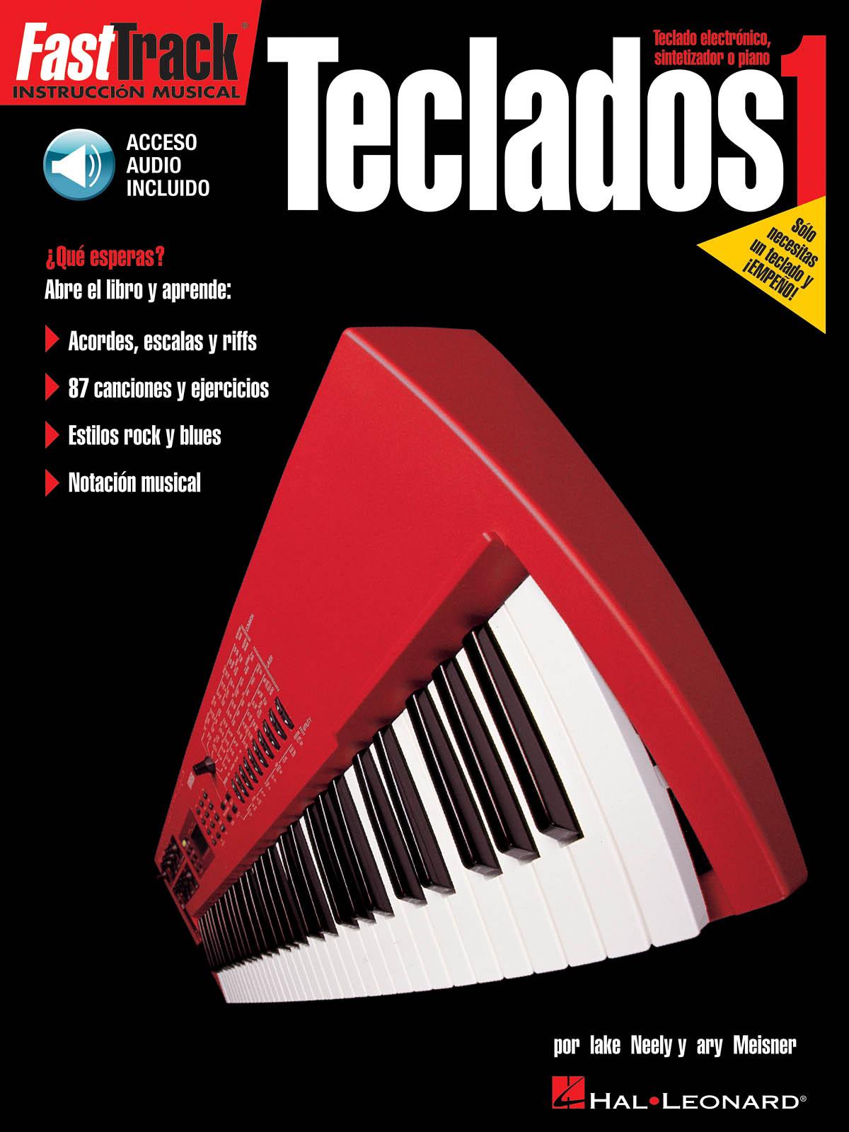 FAST TRACK TECLADOS 1 KBD BOOK/CD