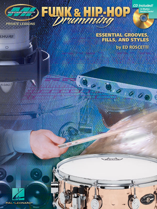 Ed Roscetti: Private Lessons Funk And Hip-Hop Drumming: Drums: Instrumental