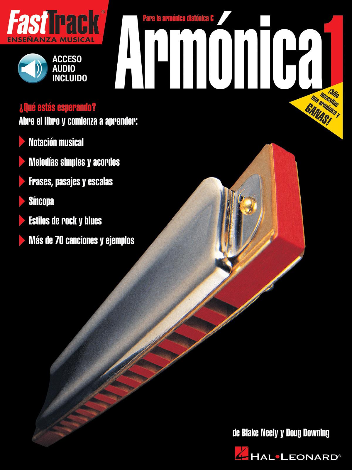 FAST TRACK ARMONICA 1 HARM BOOK/CD (Fast Track (Hal Leonard))
