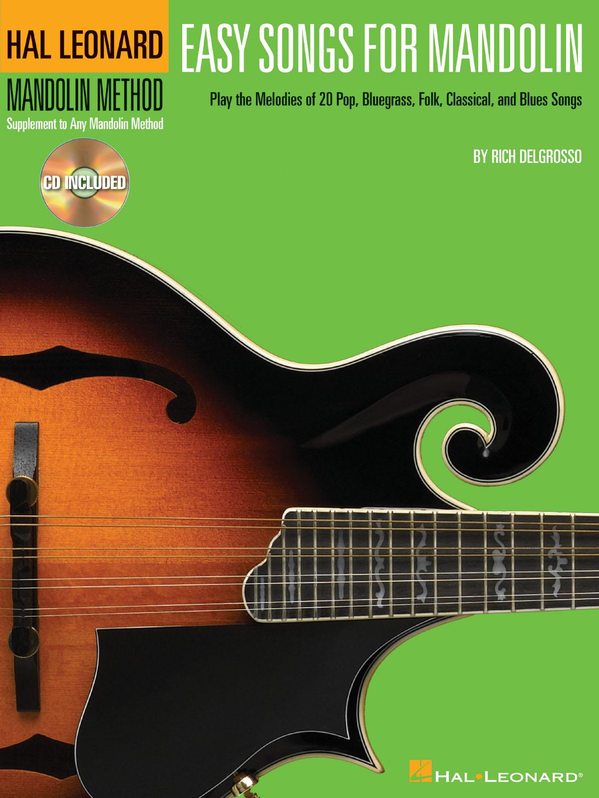 Easy Songs for Mandolin: Mandolin: Instrumental Album