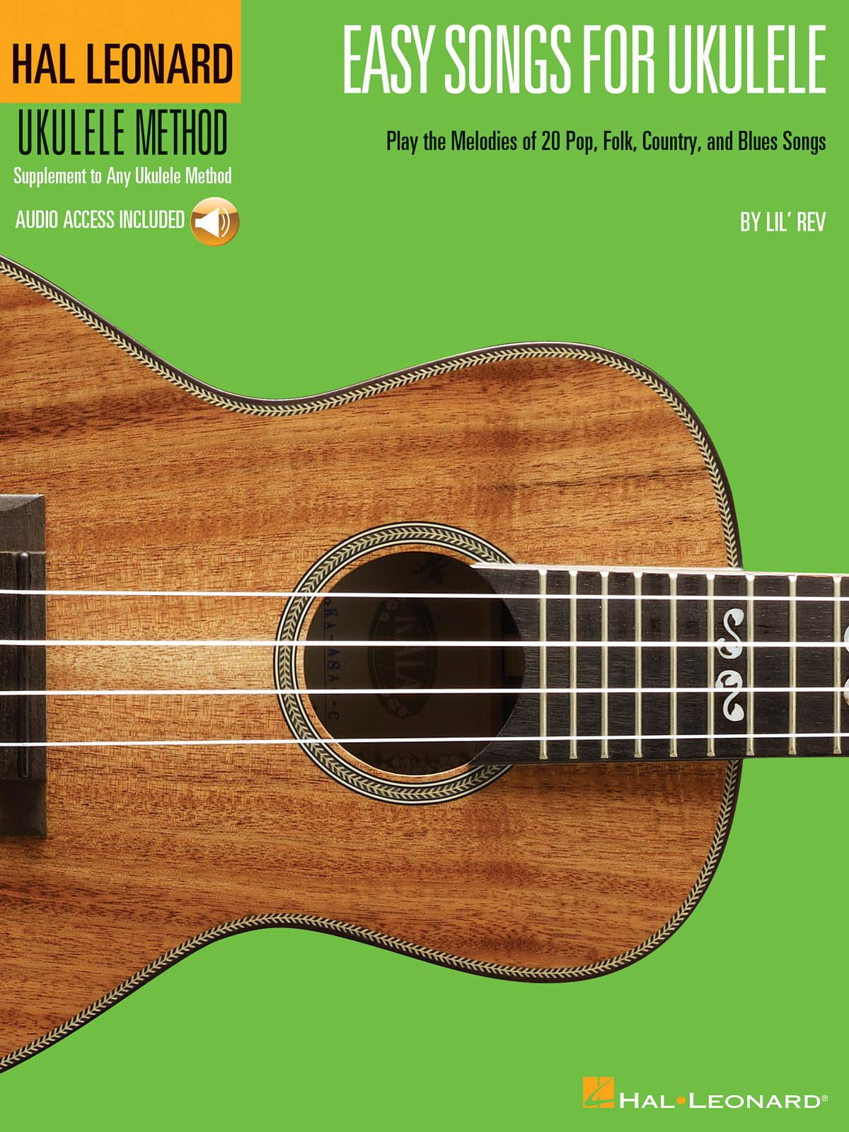 Easy Songs for Ukulele: Ukulele Solo: Mixed Songbook