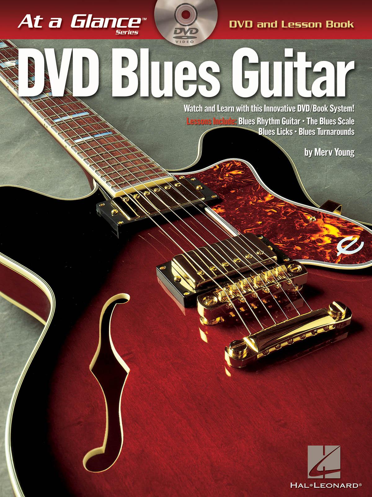 At A Glance Guitar - Blues Guitar: Guitar Solo: Instrumental Tutor
