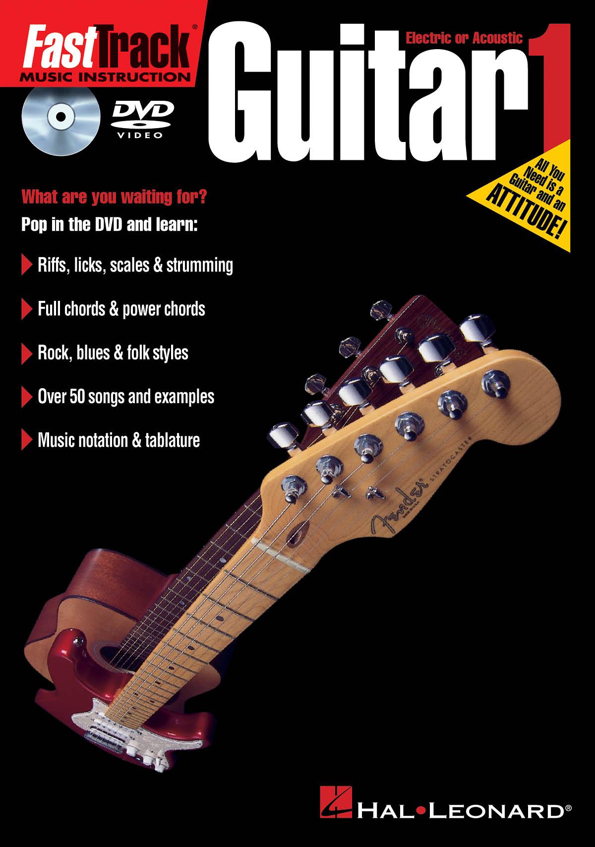 Chris O'Byrne: FastTrack - Guitar Method 1 - DVD: Guitar Solo: Instrumental