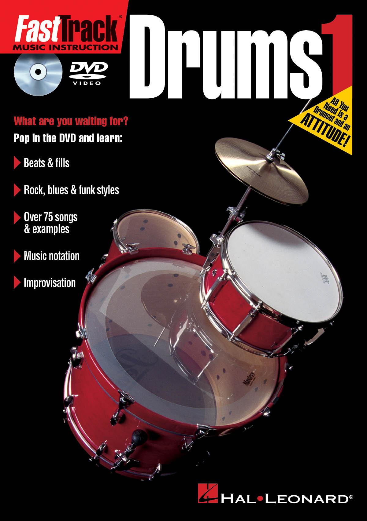 Kevin Dunphy: FastTrack - Drums Method 1 - DVD: Drums: Instrumental Tutor
