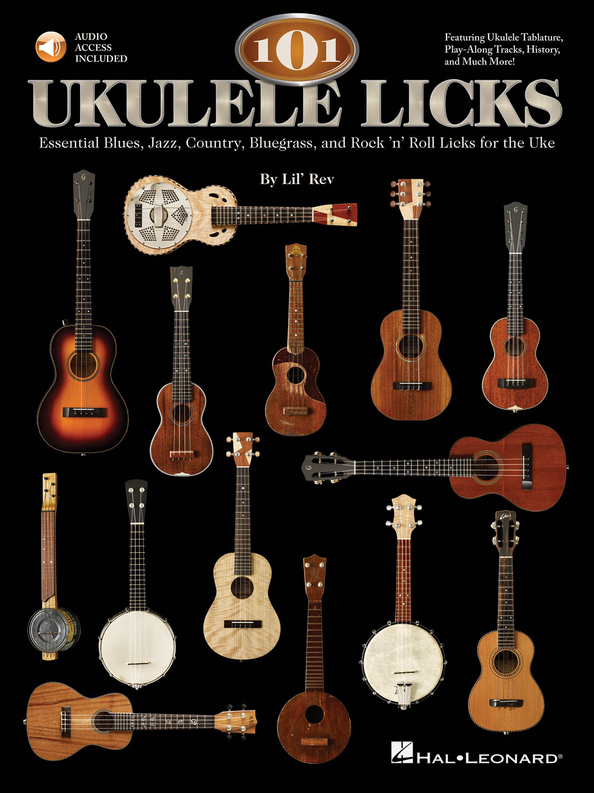 101 Ukulele Licks: Ukulele Solo: Instrumental Album