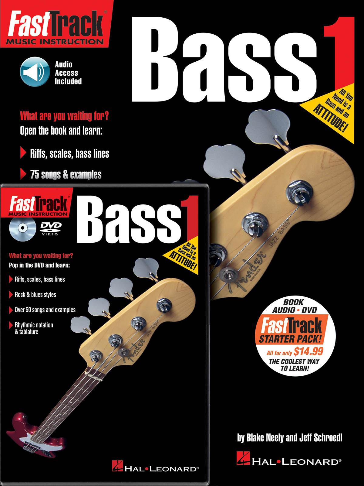 Jeff  Schroedl: FastTrack - Bass Guitar 1 Starter Pack: Bass Guitar Solo: