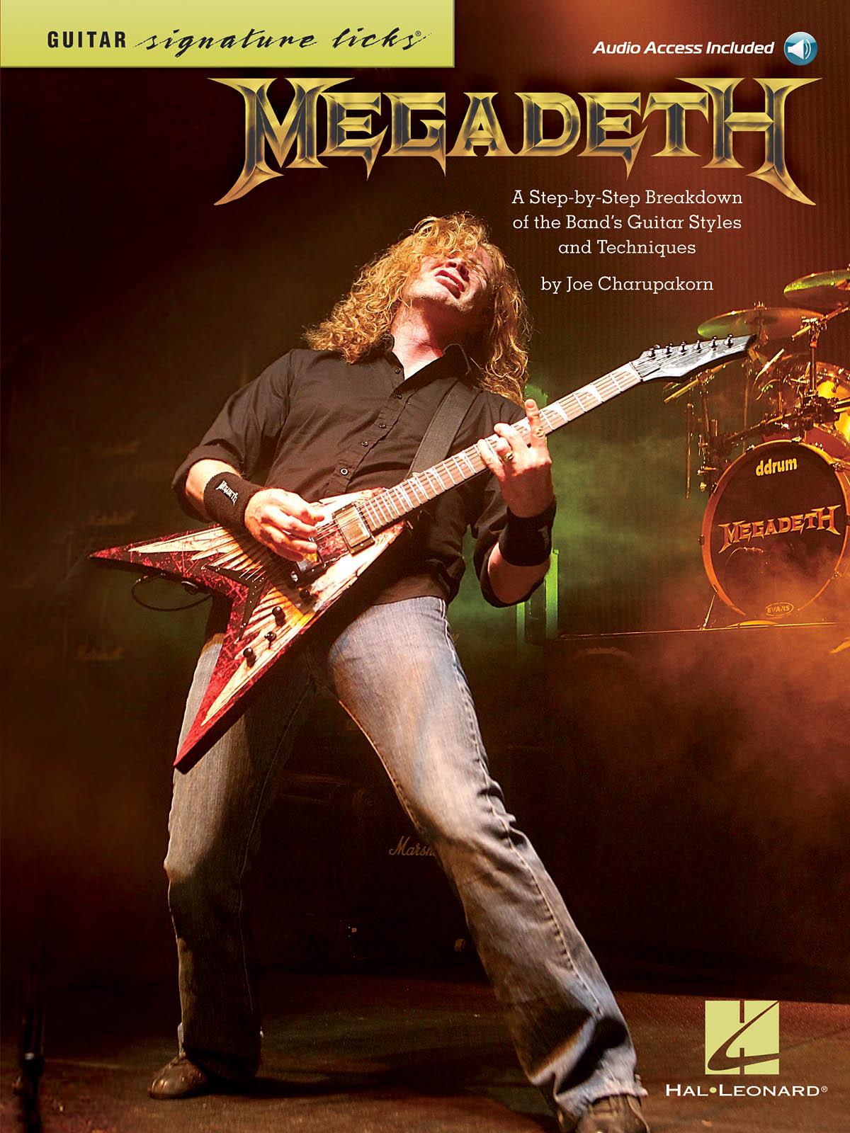 Megadeth: Signature Licks: Guitar Solo: Artist Songbook