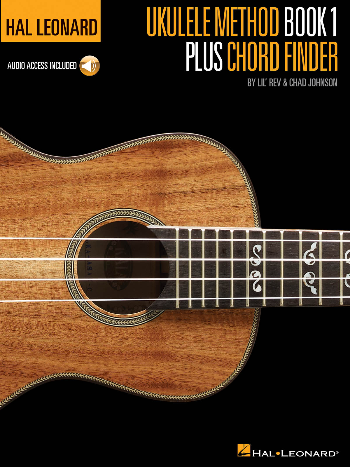 Hal Leonard Ukulele Method Book 1 + Chord Finder: Ukulele Solo: Instrumental