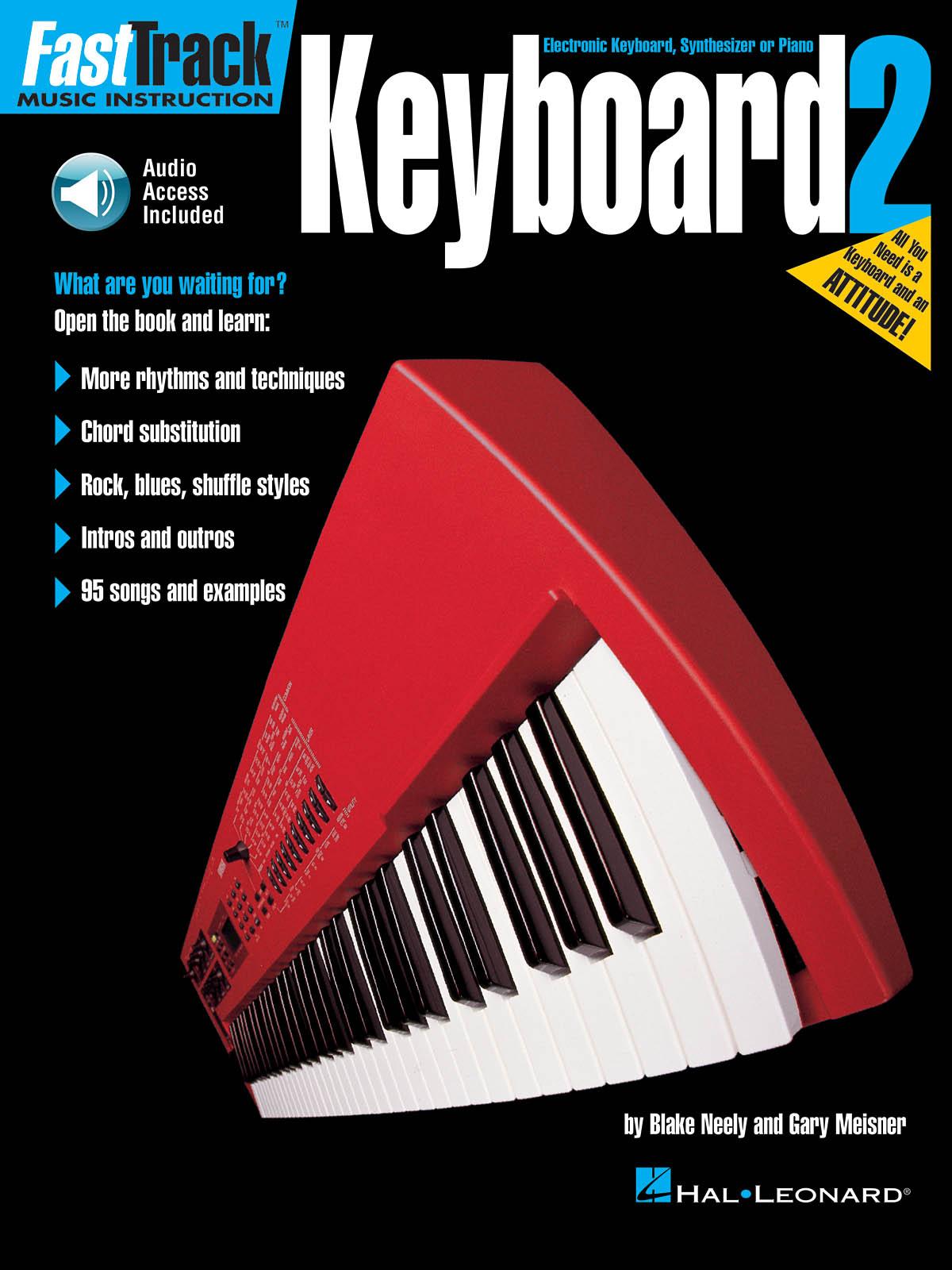 FastTrack - Keyboard Method 2 (US): Keyboard: Instrumental Tutor