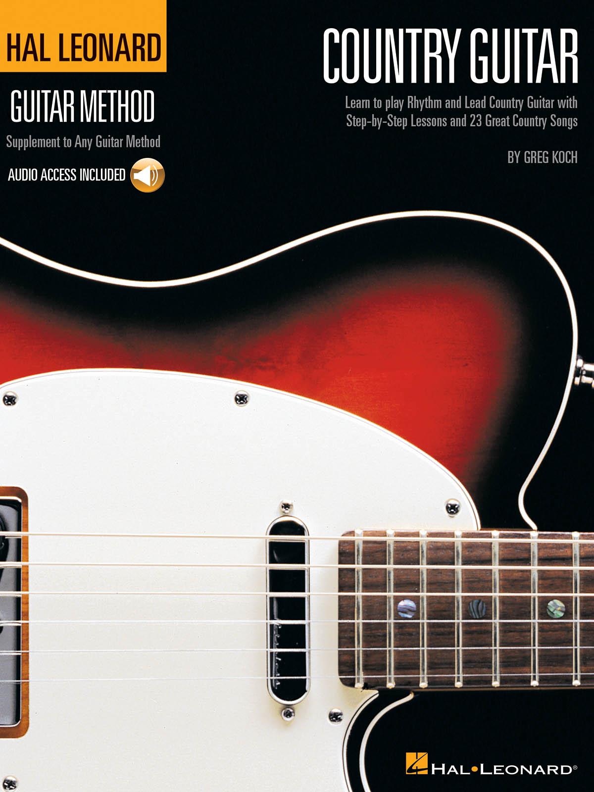 Hal Leonard Country Guitar Method: Guitar Solo: Instrumental Tutor
