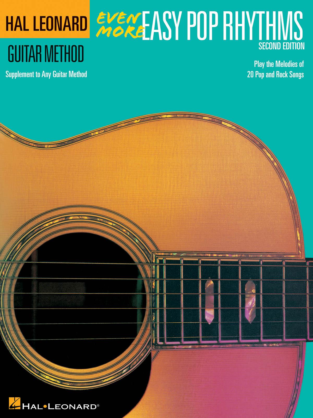 Even More Easy Pop Rhythms - 2nd Edition: Guitar Solo: Instrumental Album
