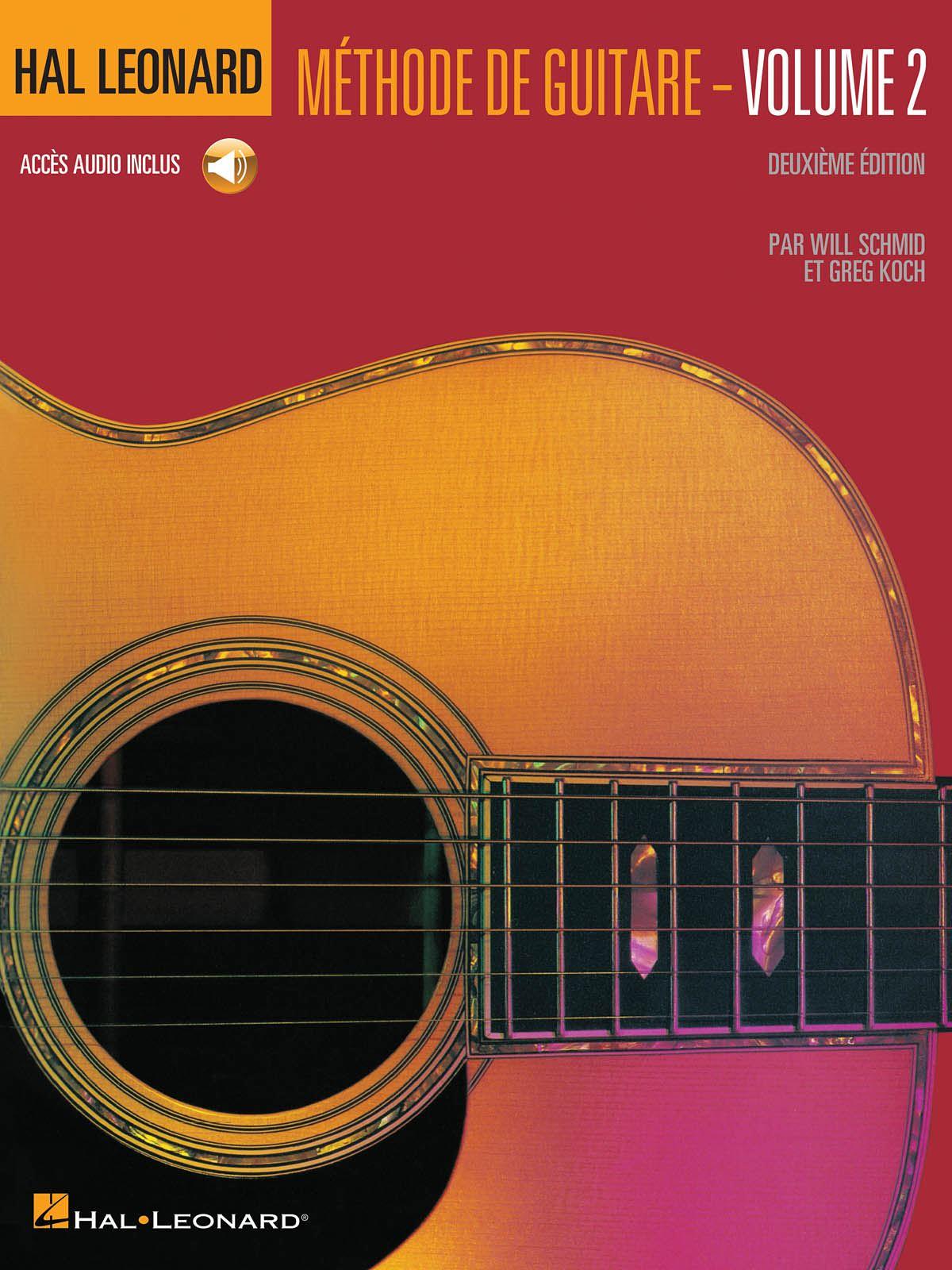 HAL LEONARD METHODE DE GUITARE VOLUME 2 (DEUXIEME EDITION AVEC CD) GTR