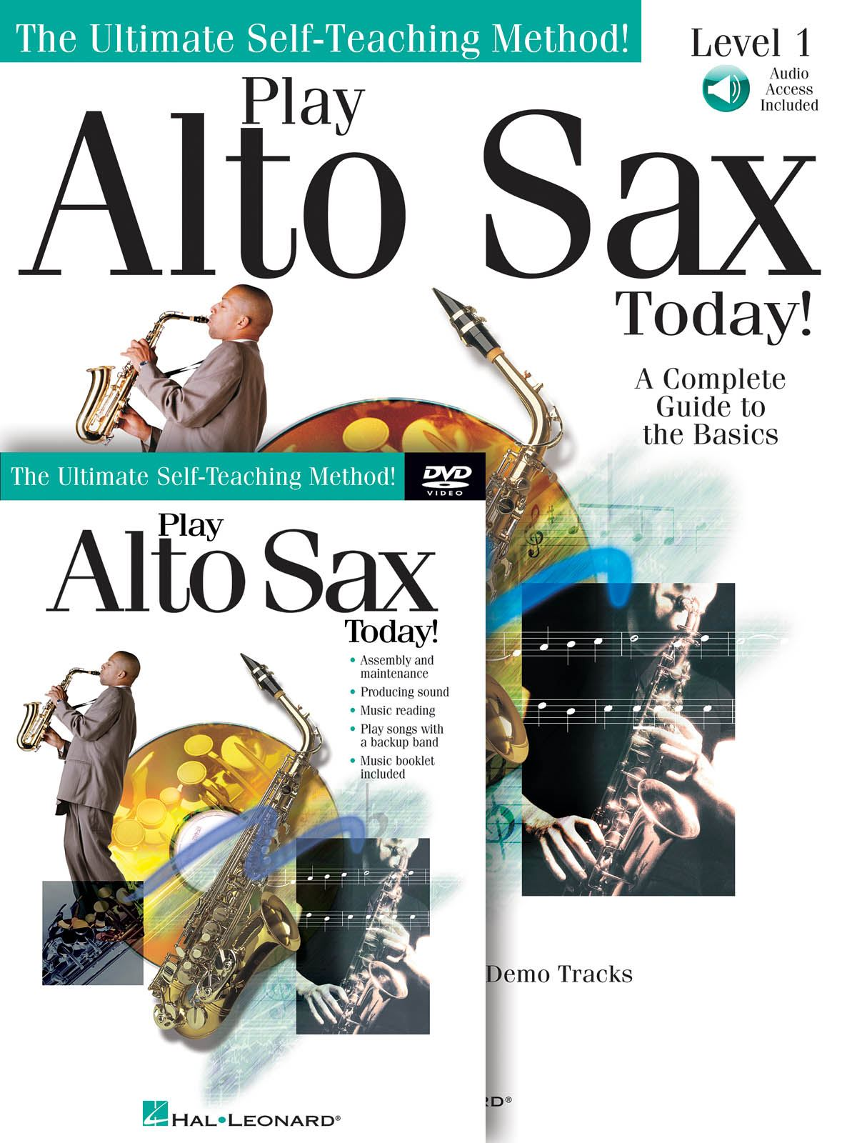 Play Alto Sax Today! Beginner's Pack: Alto Saxophone: Instrumental Tutor