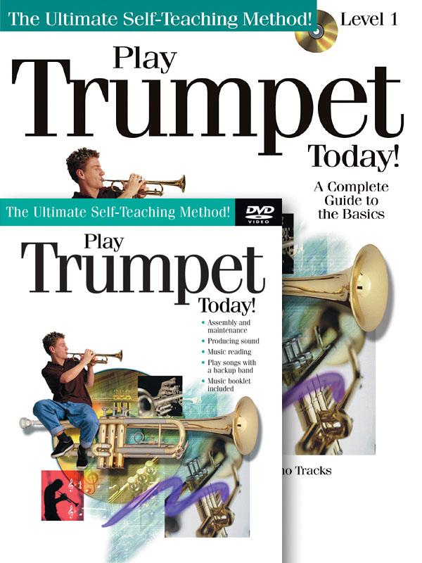 Play Trumpet Today! Beginner's Pack: Trumpet Solo: Instrumental Tutor
