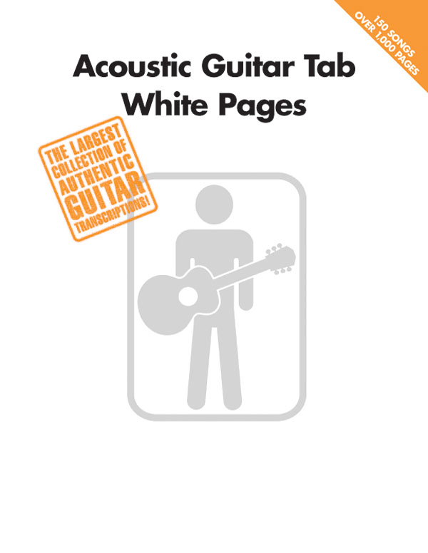 Acoustic Guitar TAB White Pages: Guitar Solo: Instrumental Album
