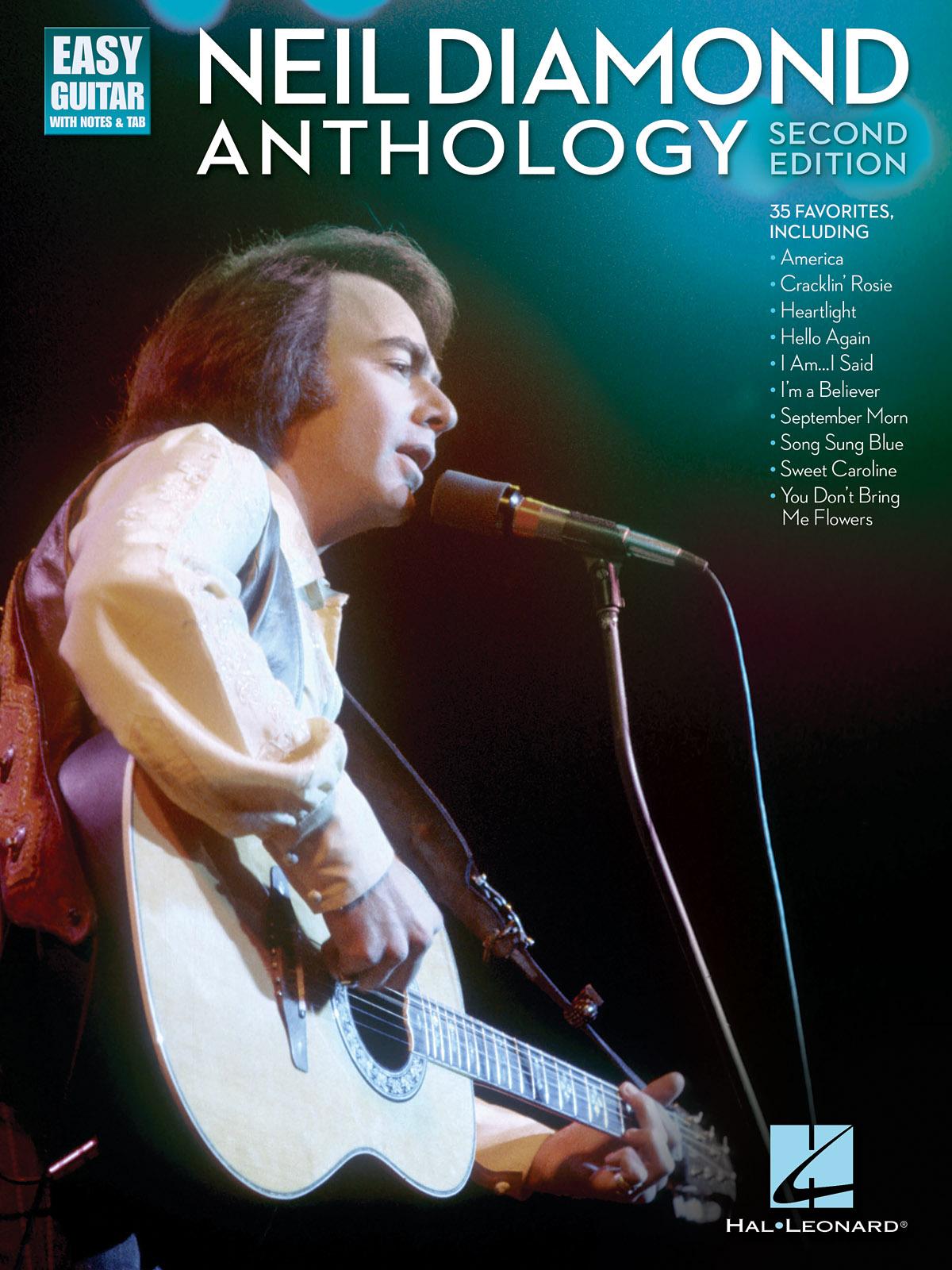 Neil Diamond: Neil Diamond Anthology: Guitar Solo: Artist Songbook
