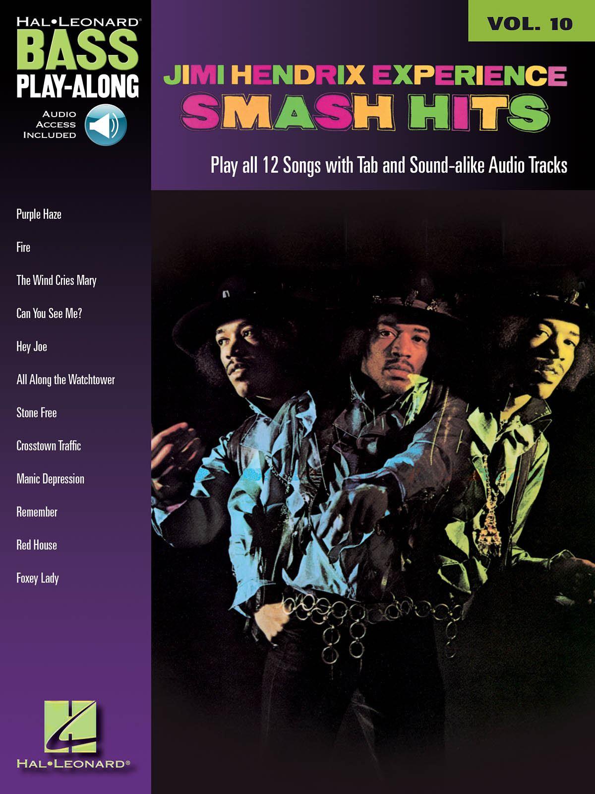 Jimi Hendrix: Jimi Hendrix - Smash Hits: Bass Guitar Solo: Instrumental Album