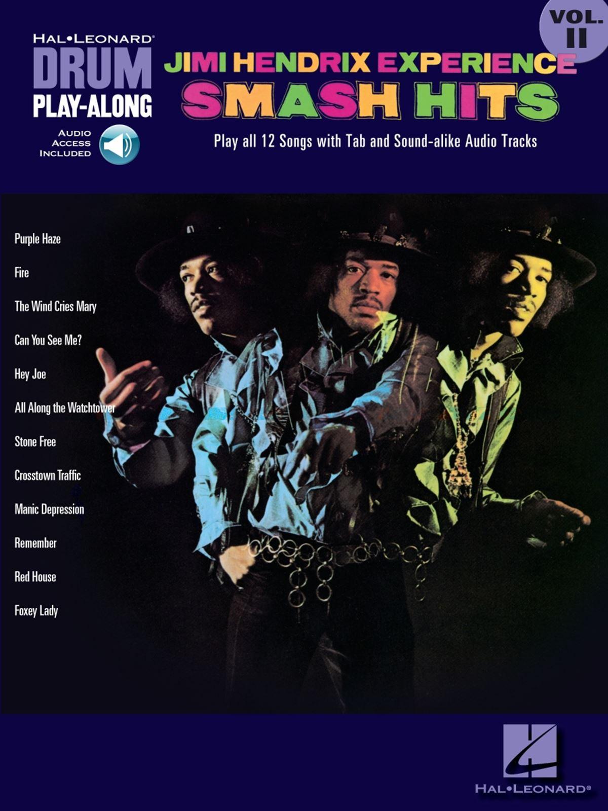 Jimi Hendrix: Jimi Hendrix Experience: Smash Hits Vol. 2: Drums: Instrumental