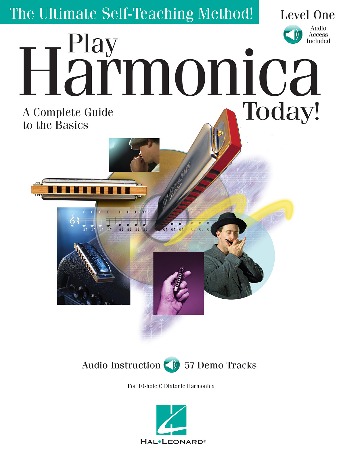 Play Harmonica Today! Level 1: Harmonica: Instrumental Tutor