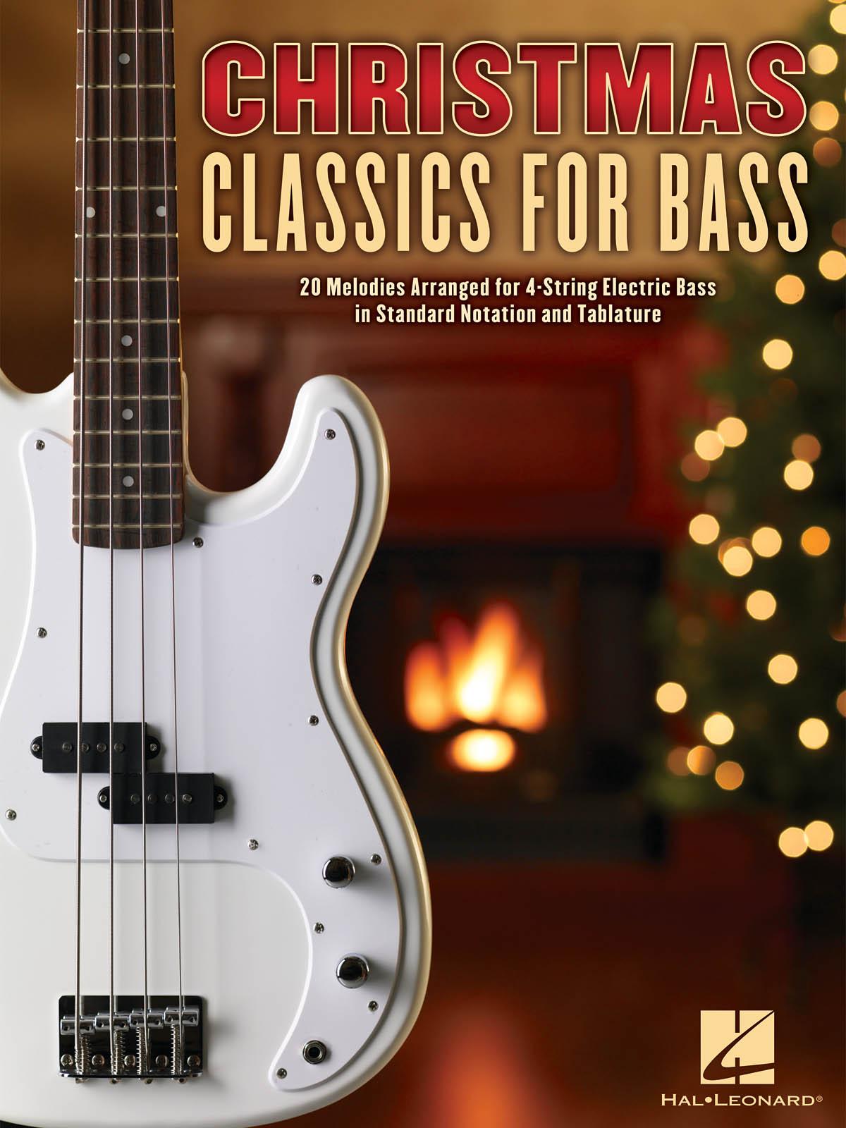 Christmas Classics for Bass: Bass Guitar Solo: Instrumental Album