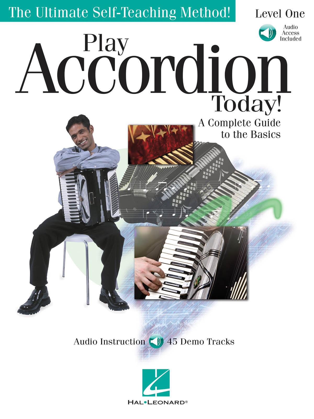 Play Accordion Today!: Accordion Solo: Instrumental Tutor