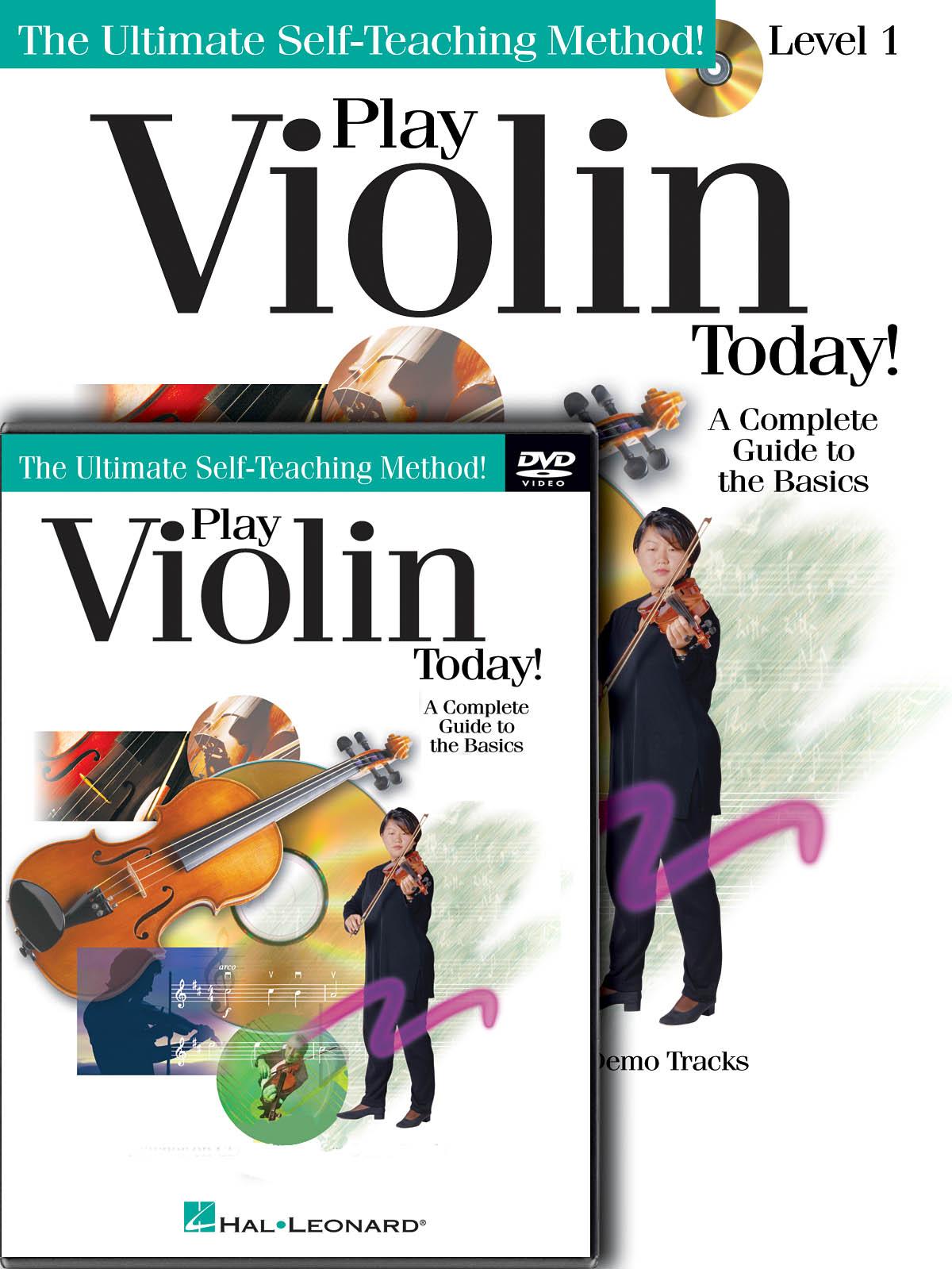 Play Violin Today! Beginner's Pack: Violin Solo: Instrumental Tutor