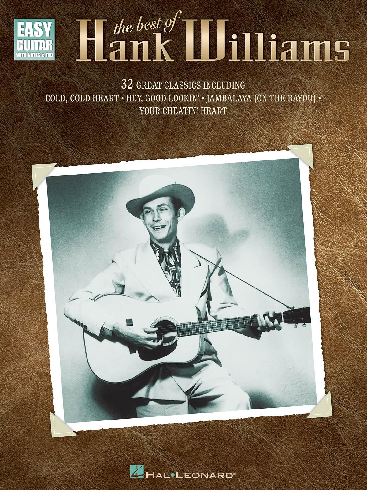 : The Best of Hank Williams: Guitar Solo: Instrumental Album