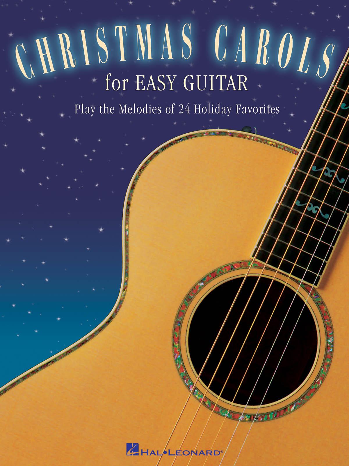 Christmas Carols For Easy Guitar: Guitar Solo: Instrumental Album