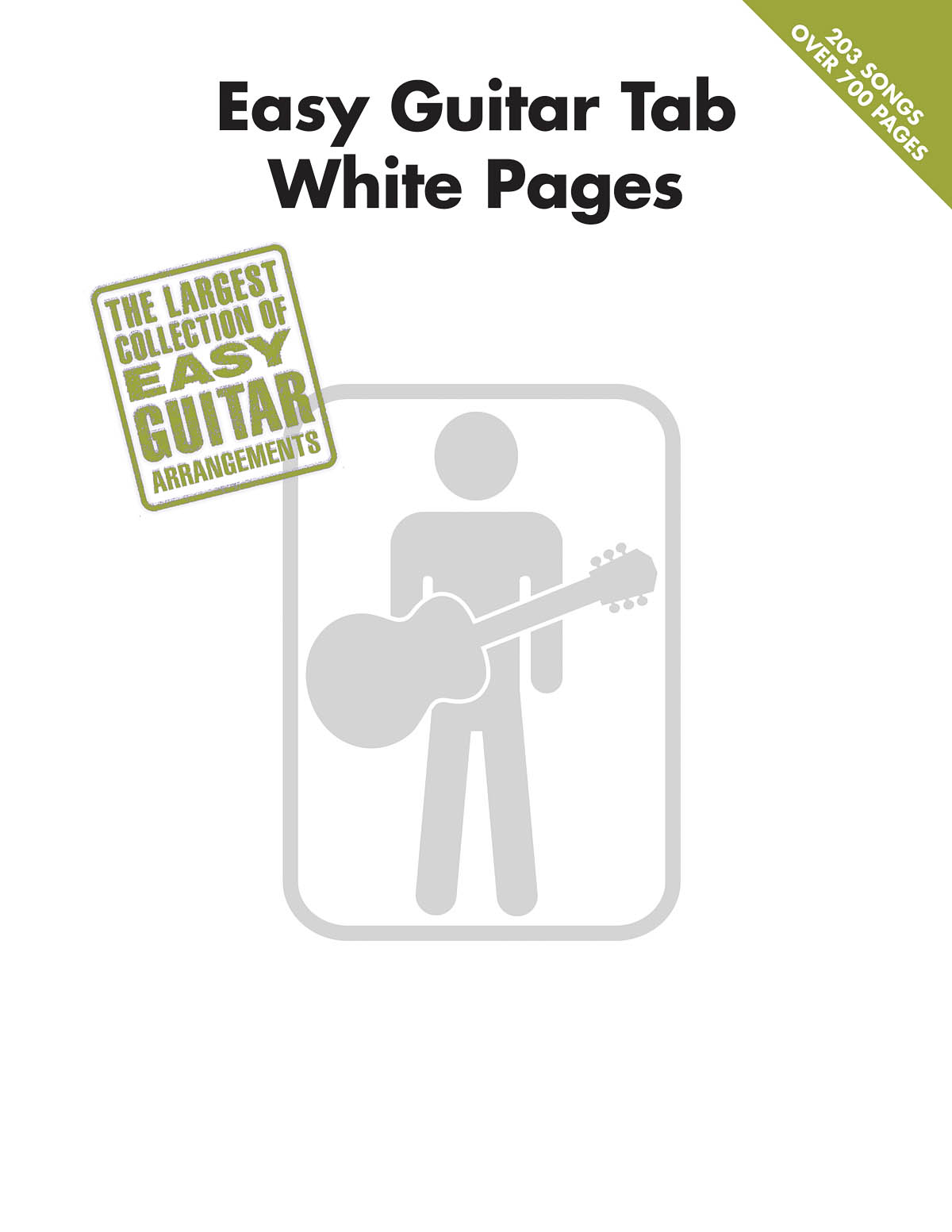 Easy Guitar Tab White Pages: Guitar Solo: Instrumental Album