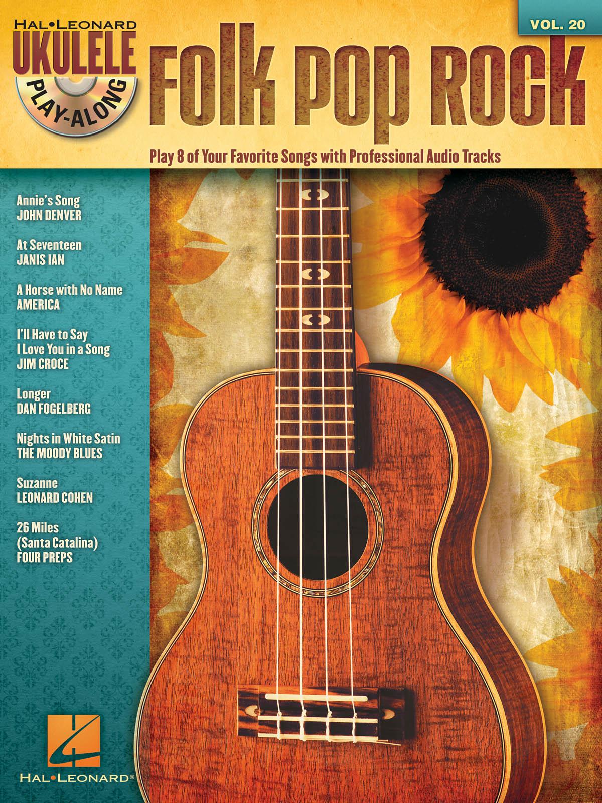 Folk Pop Rock: Ukulele Solo: Mixed Songbook