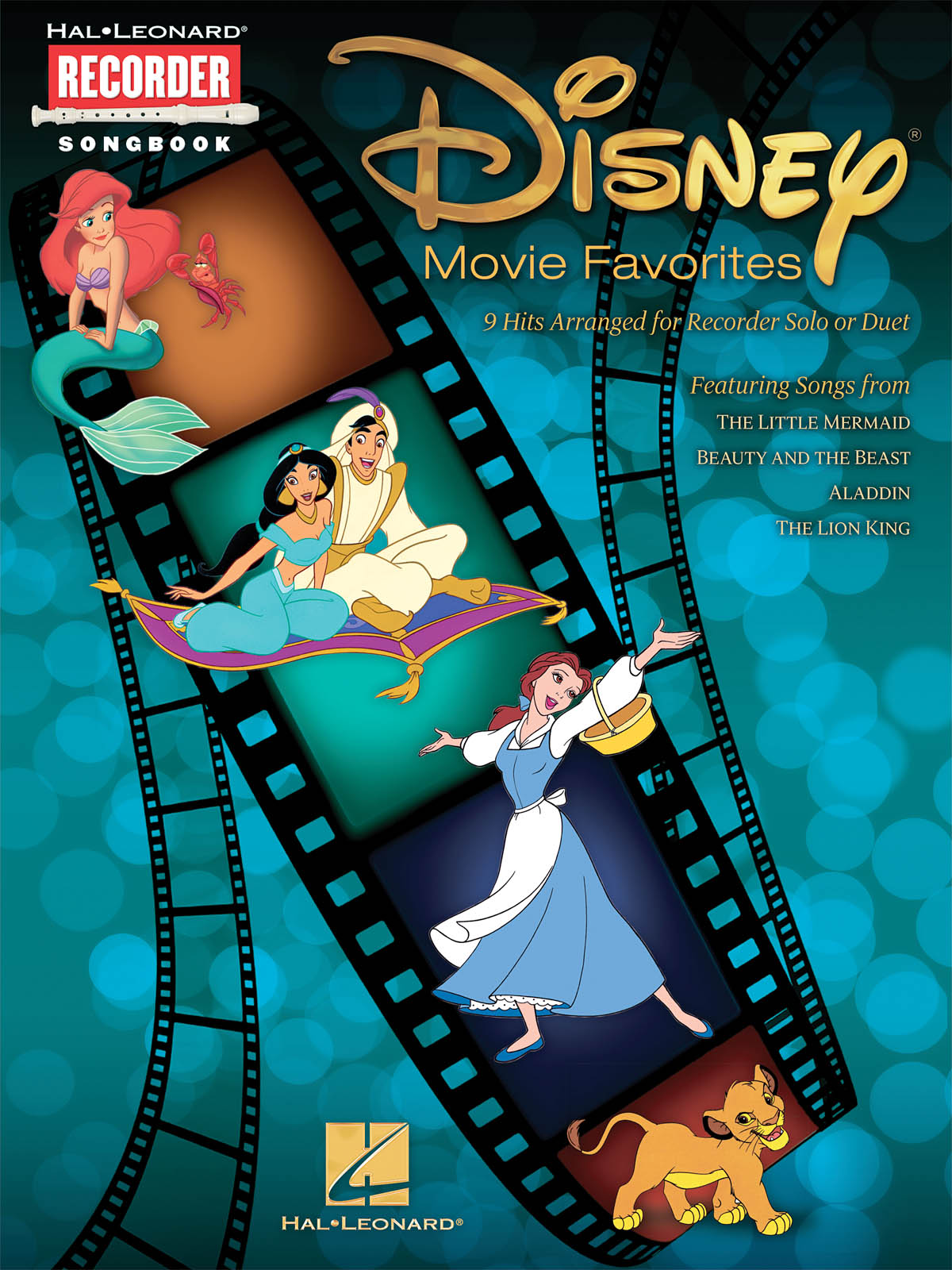 Disney Movie Favorites for Recorder: Recorder: Instrumental Album