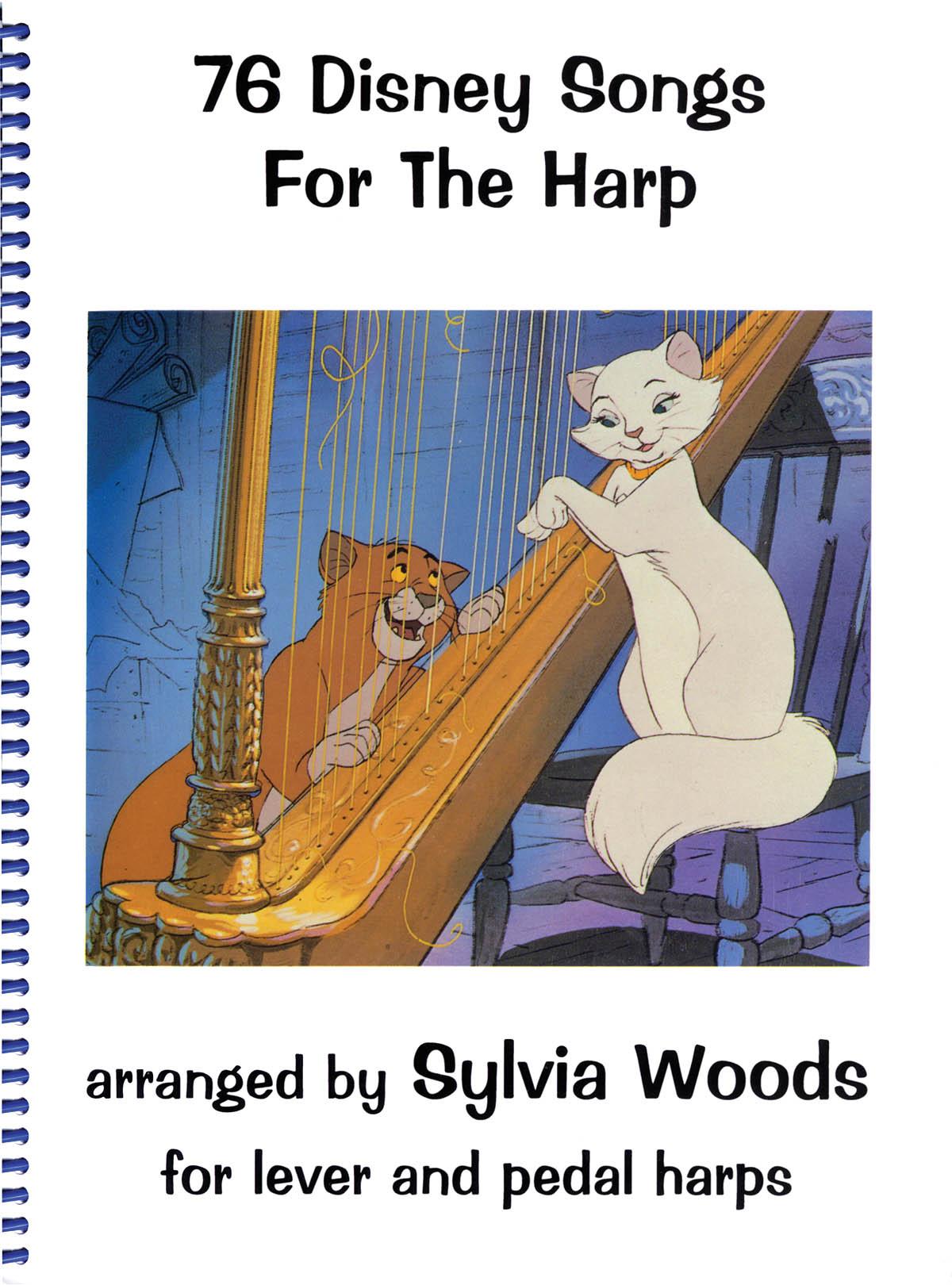 76 Disney Songs for the Harp: Harp Solo: Score
