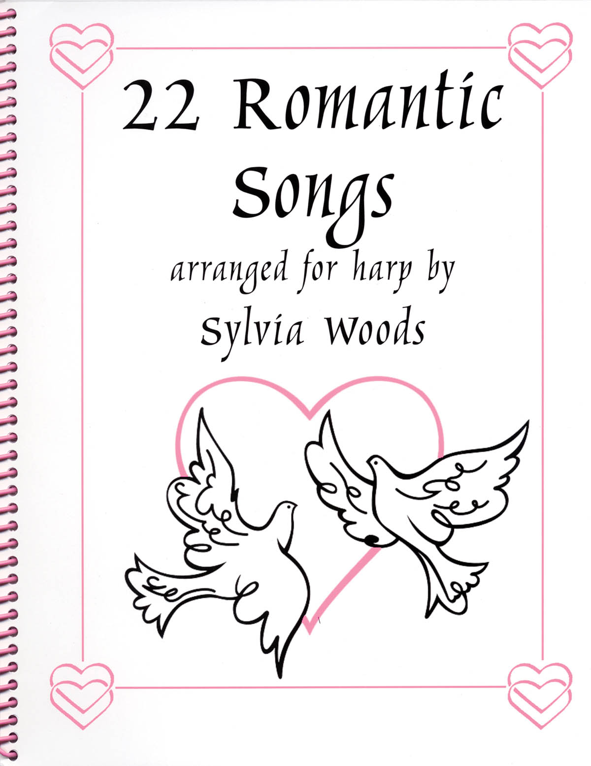 22 Romantic Songs for the Harp: Harp Solo: Mixed Songbook