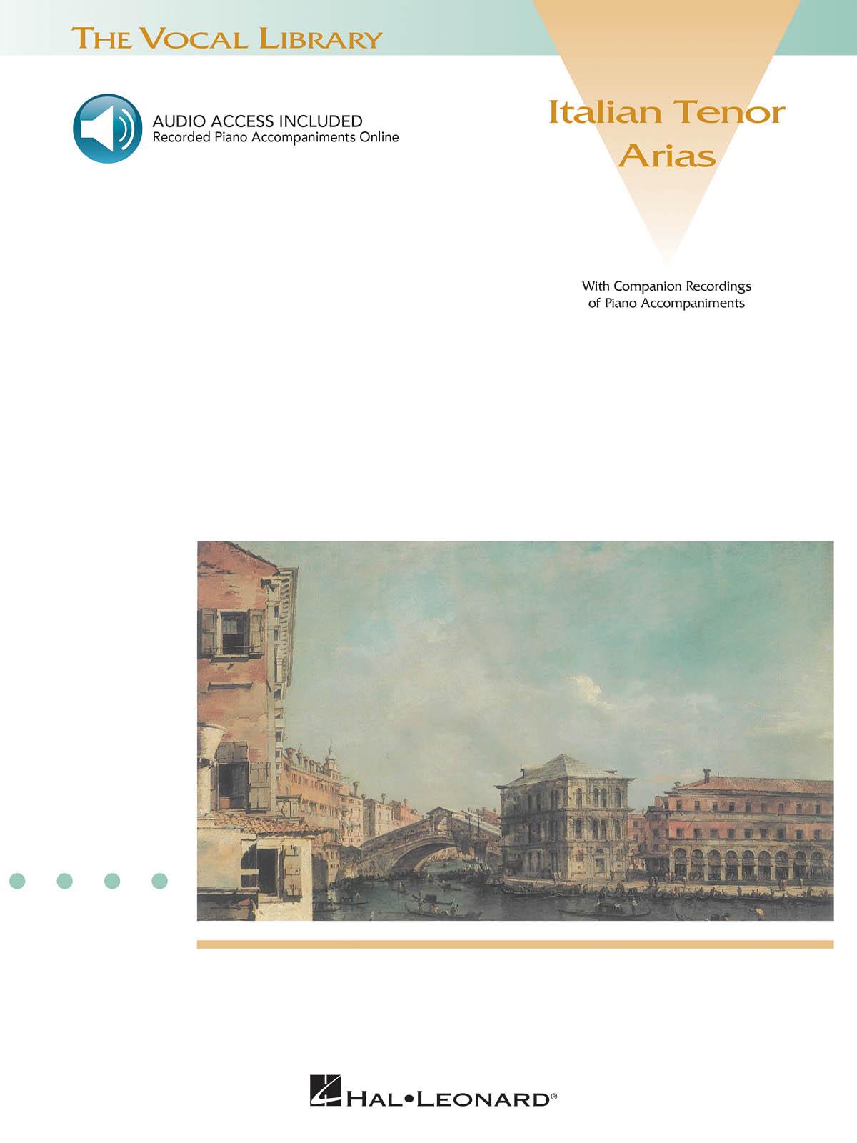 Italian Tenor Arias: Vocal Solo: Vocal Album