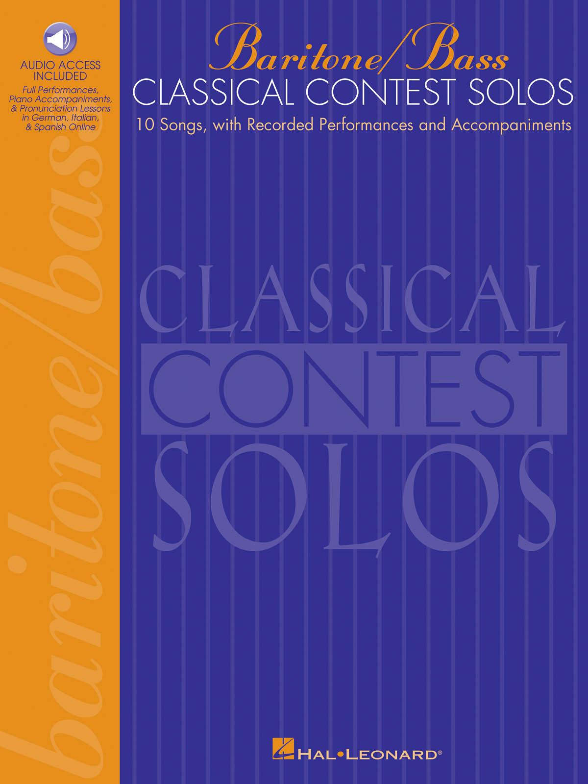 Classical Contest Solos - Baritone/Bass: Vocal Solo: Vocal Album