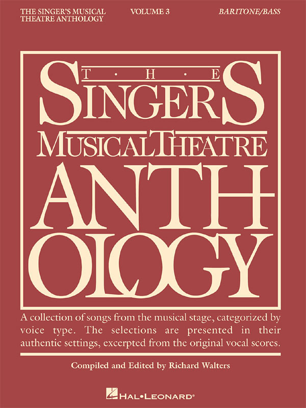 The Singer's Musical Theatre Anthology - Volume 3: Vocal Solo: Mixed Songbook