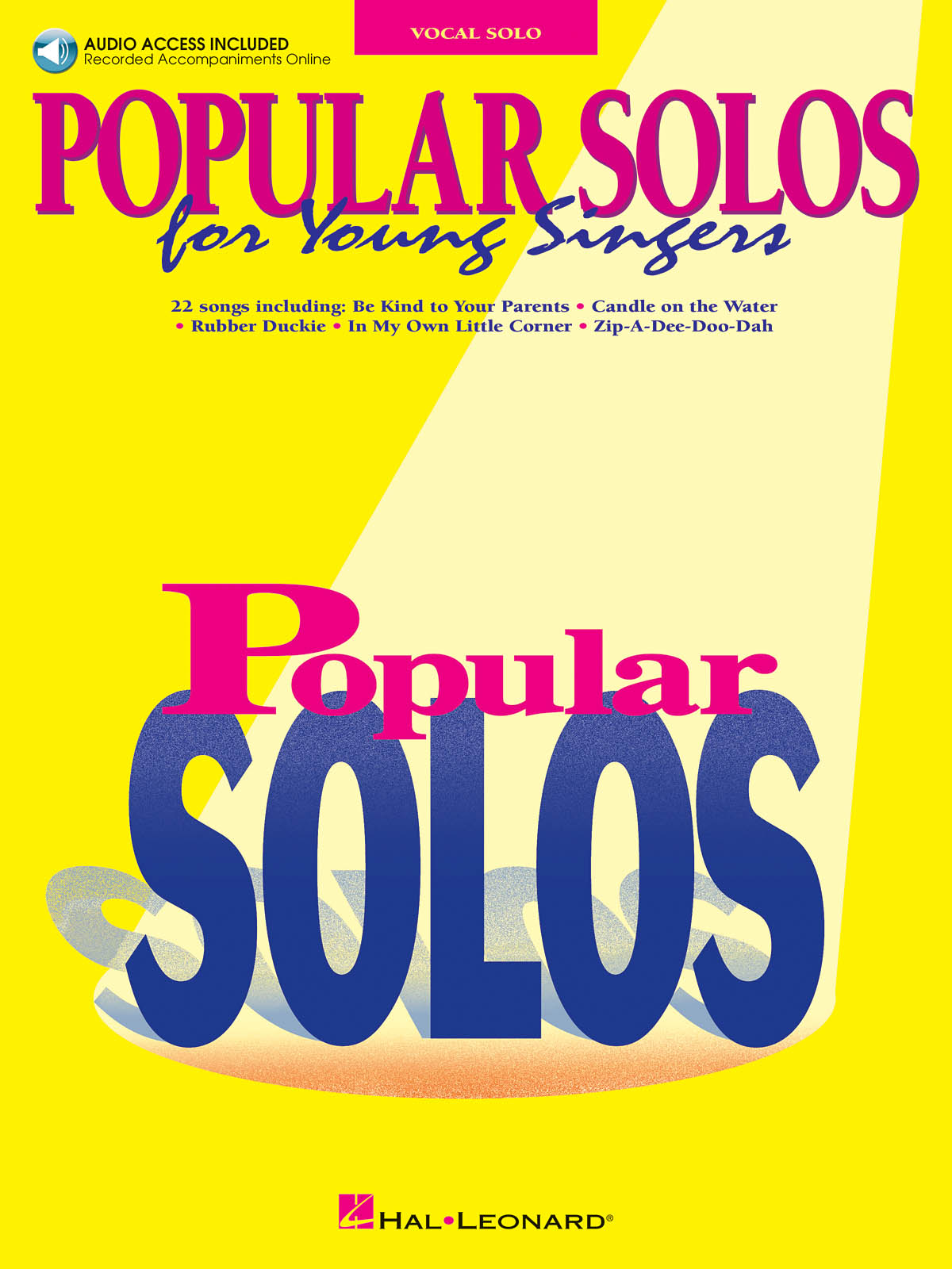 Popular Solos for Young Singers: Vocal and Piano: Vocal Album