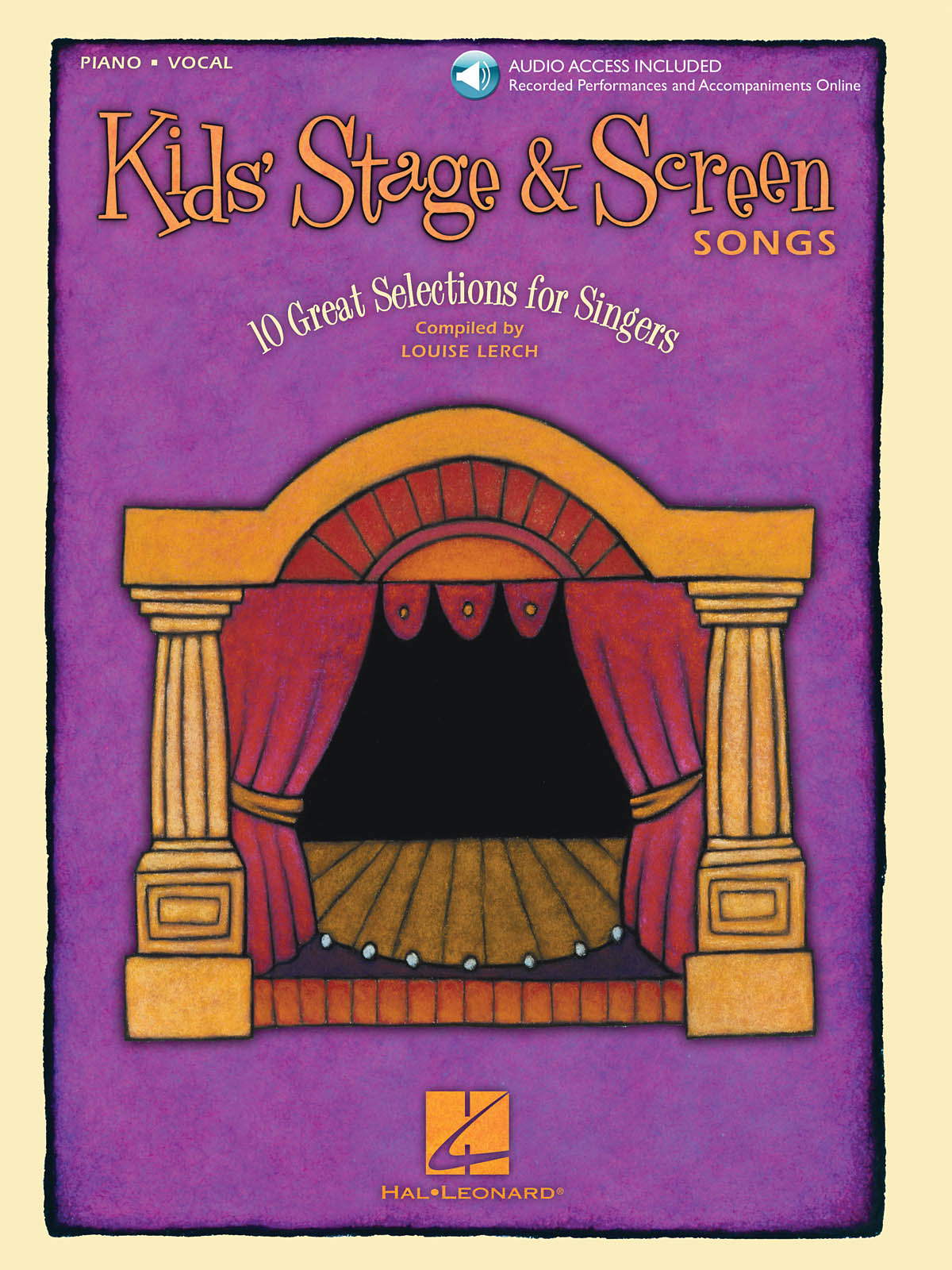 Kids' Stage & Screen Songs: Vocal Solo: Vocal Album